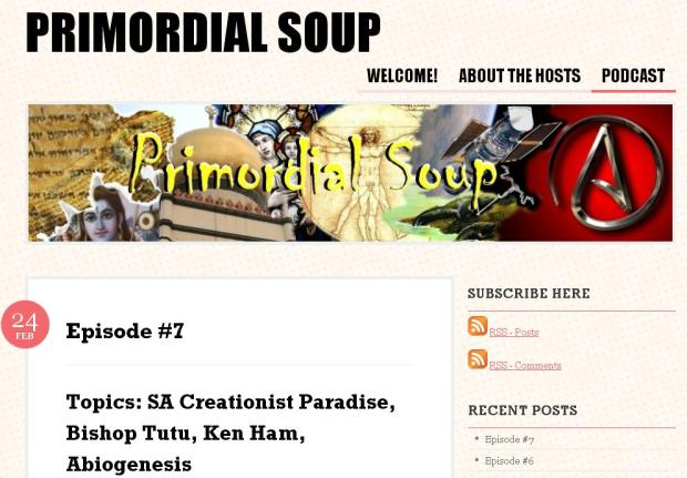 Primordial Soop - Skeptic South Africa podcast
